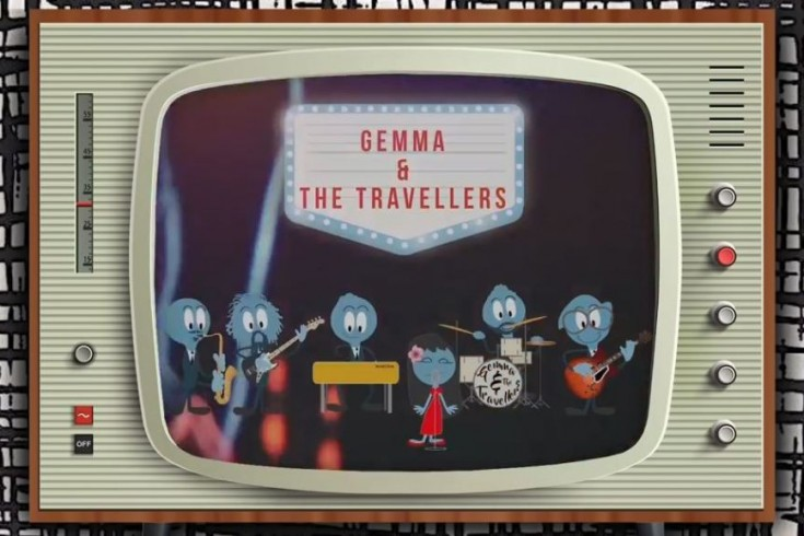 Gemma and the travellers, I keep on thinking, official